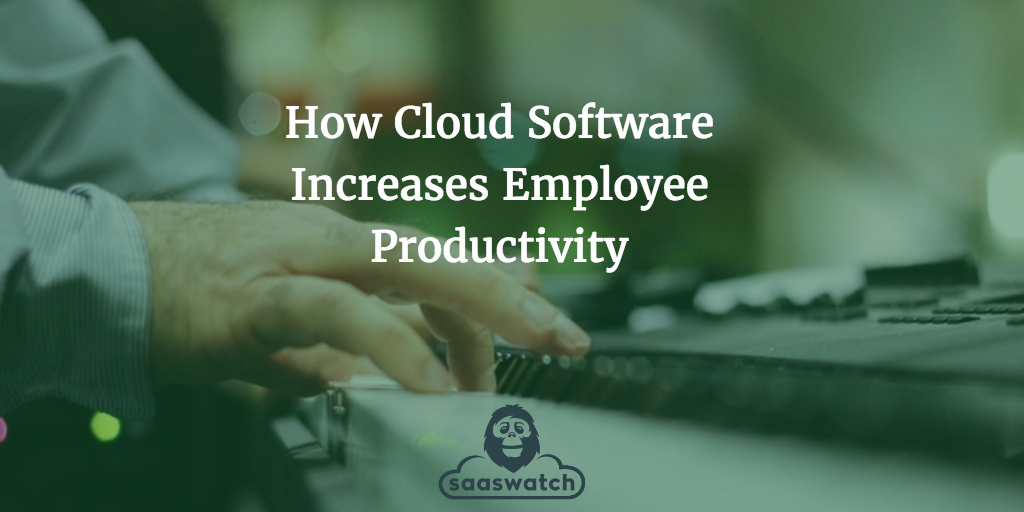 Cloud Productivity Image