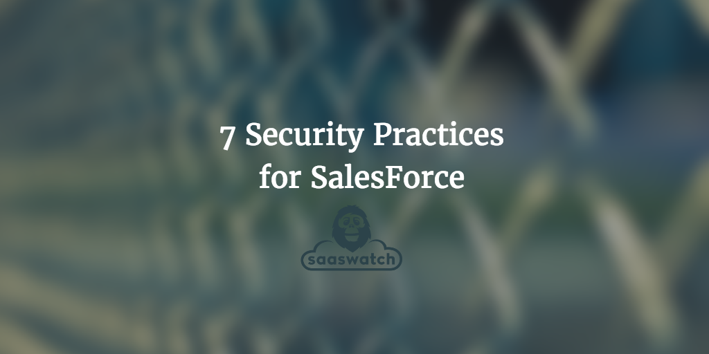 Salesforce Security Practice Image